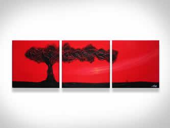 The Tree of Life  - Original Canvas Art