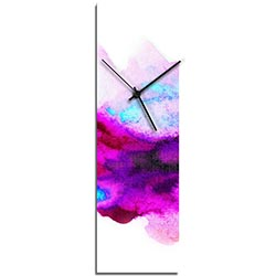 NAY Watercolor Clock v2 Modern Style Wall Clock