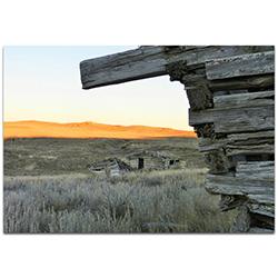 Western Wall Art The Corner - American West Decor on Metal or Plexiglass