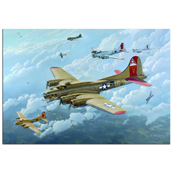 B17 - World War 2 Metal Wall Art