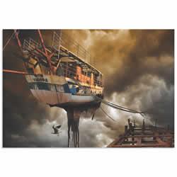 Nymph Ship by Radoslav Penchev - Digital Graphic Art on Metal or Acrylic