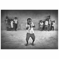 The Performer by Marc Apers - Kids Dancing Pic on Metal or Acrylic