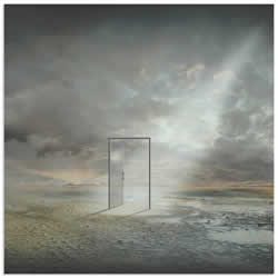 Behind Reality by Franziskus Pfleghart - Digital Art on Metal or Acrylic