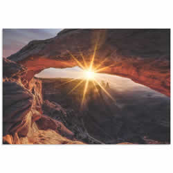 The Mesa Arch by Ren??_??__??_??___??_??__??_??____??_??__??_??___??_??__??_??_____??_??__??_??___??_??__??_??____??_??__??_??___??_??__??_??______ Colella - Utah Desert Art on Metal or Acrylic