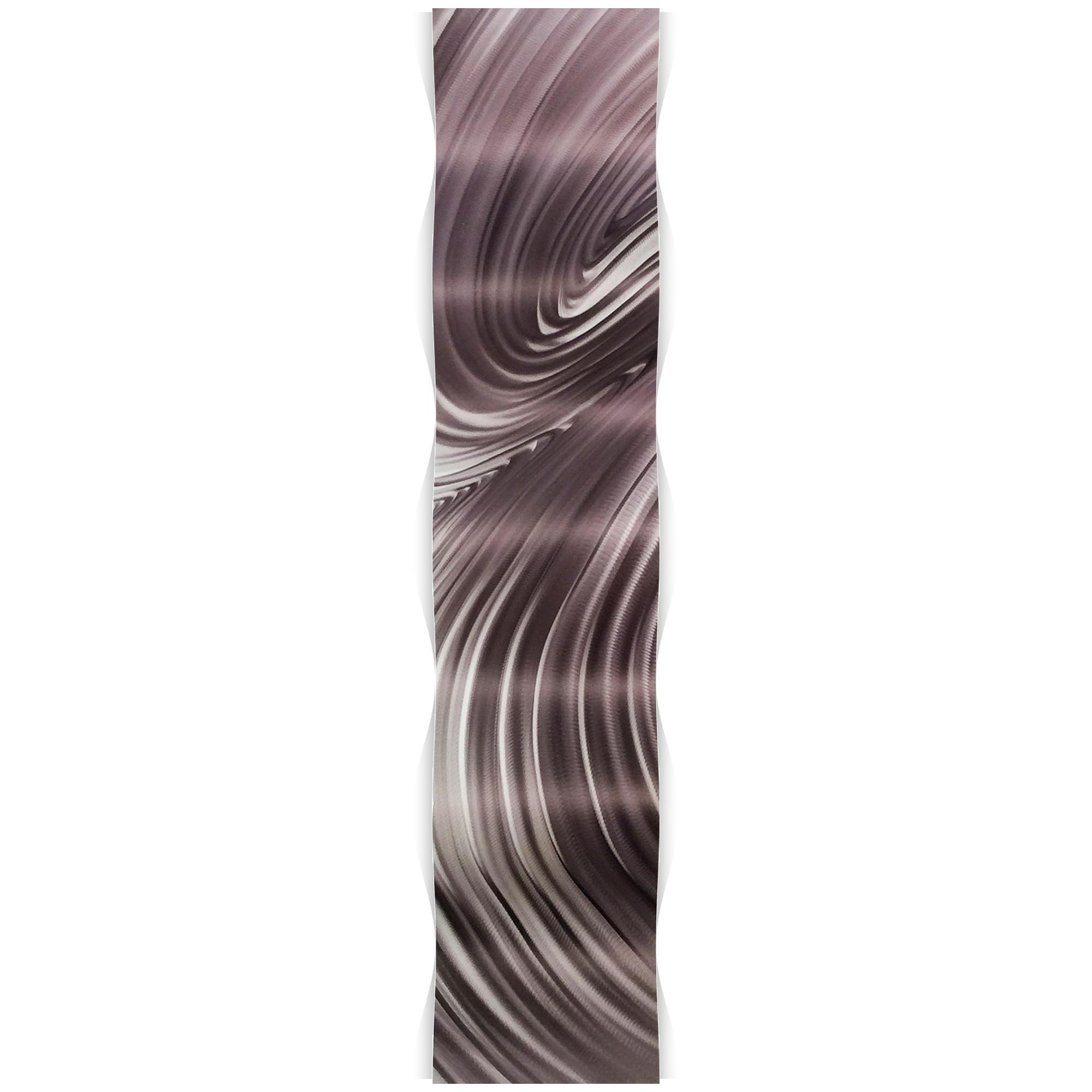 Fusion Wave 9.5x44in. Metal Eclectic Decor - Image 2