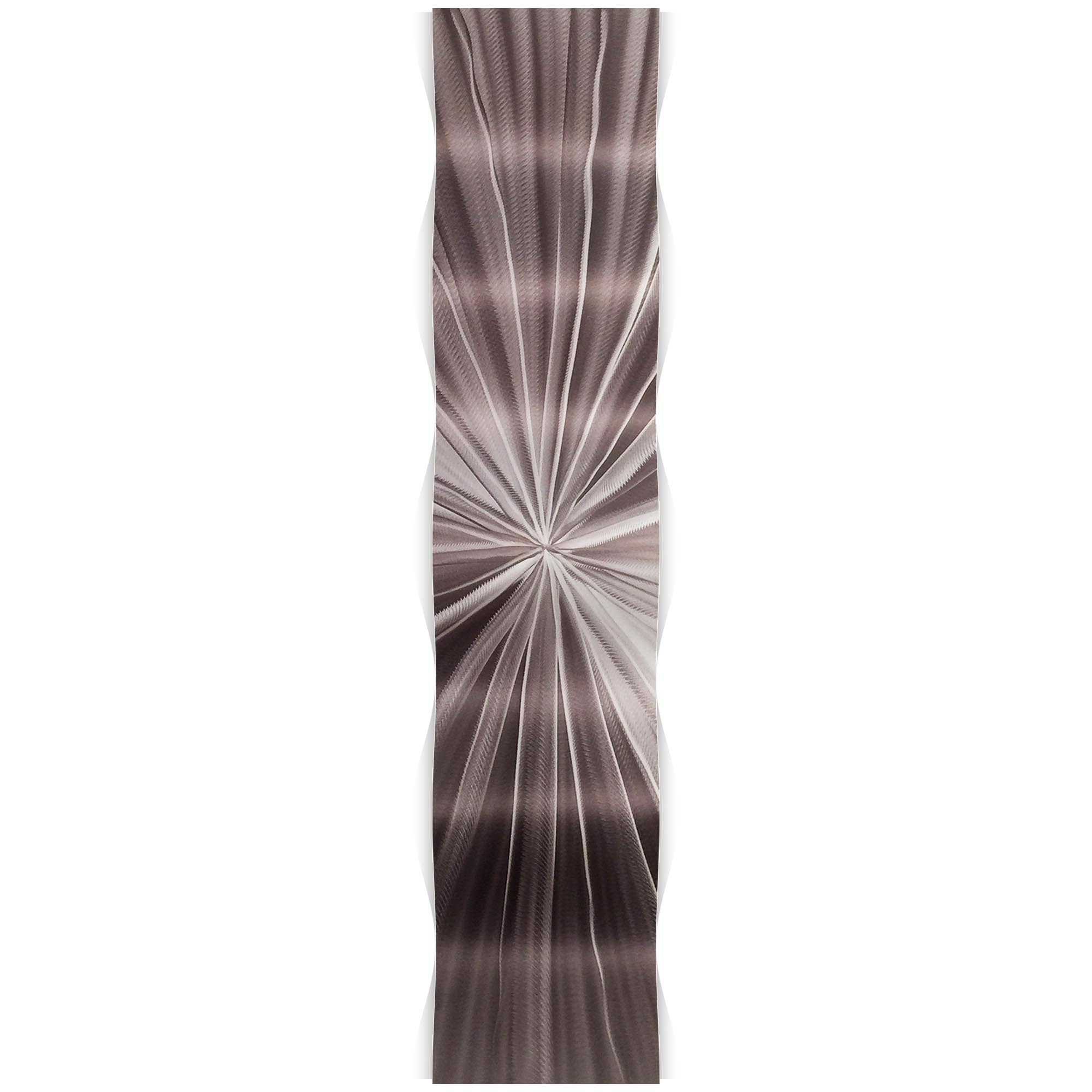 Tantalum Wave 9.5x44in. Metal Eclectic Decor - Image 2