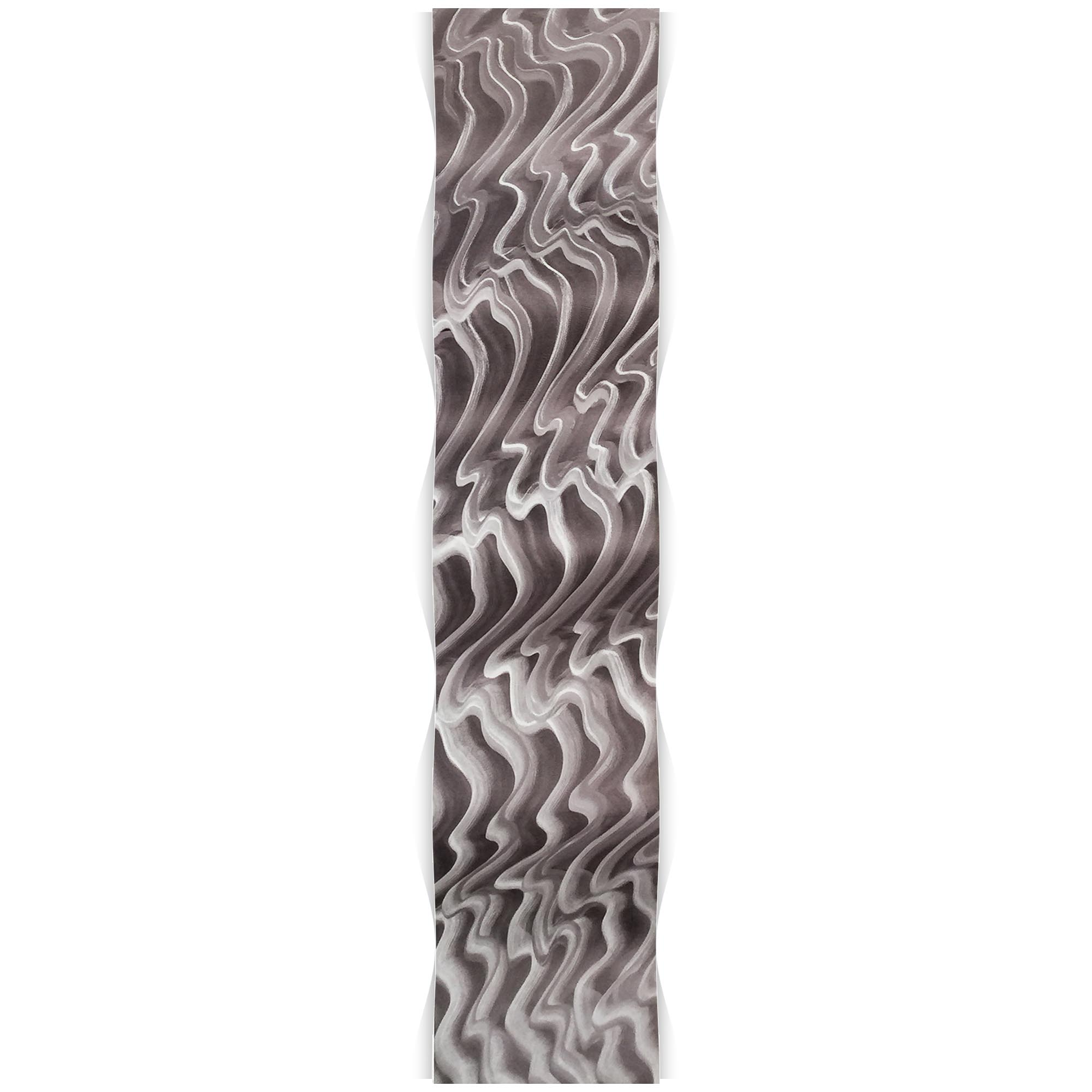 Polar Wave 9.5x44in. Metal Eclectic Decor - Image 2
