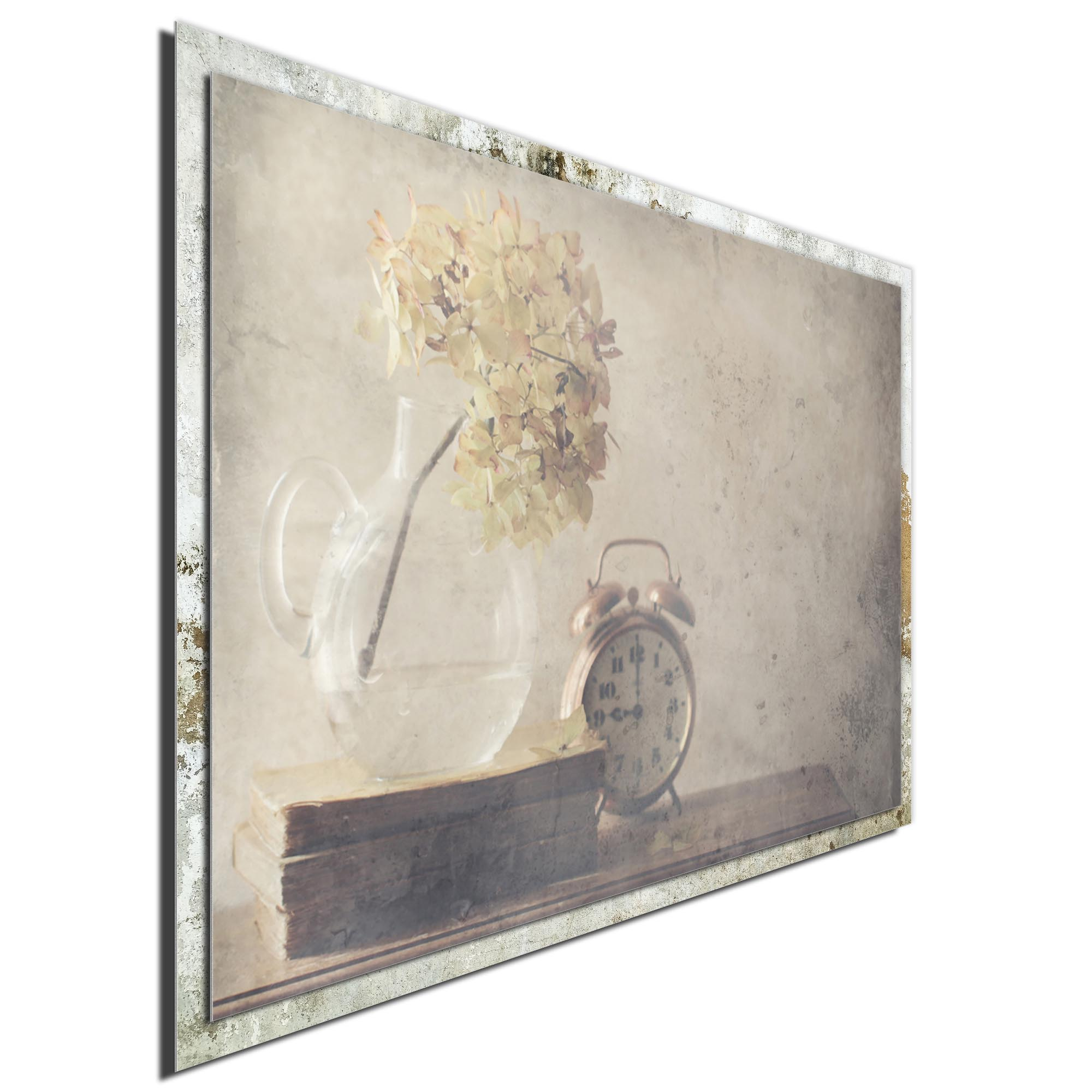 Disillusionment of Nine O'Clock by Delphine Devos - Modern Farmhouse Floral on Metal - Image 2