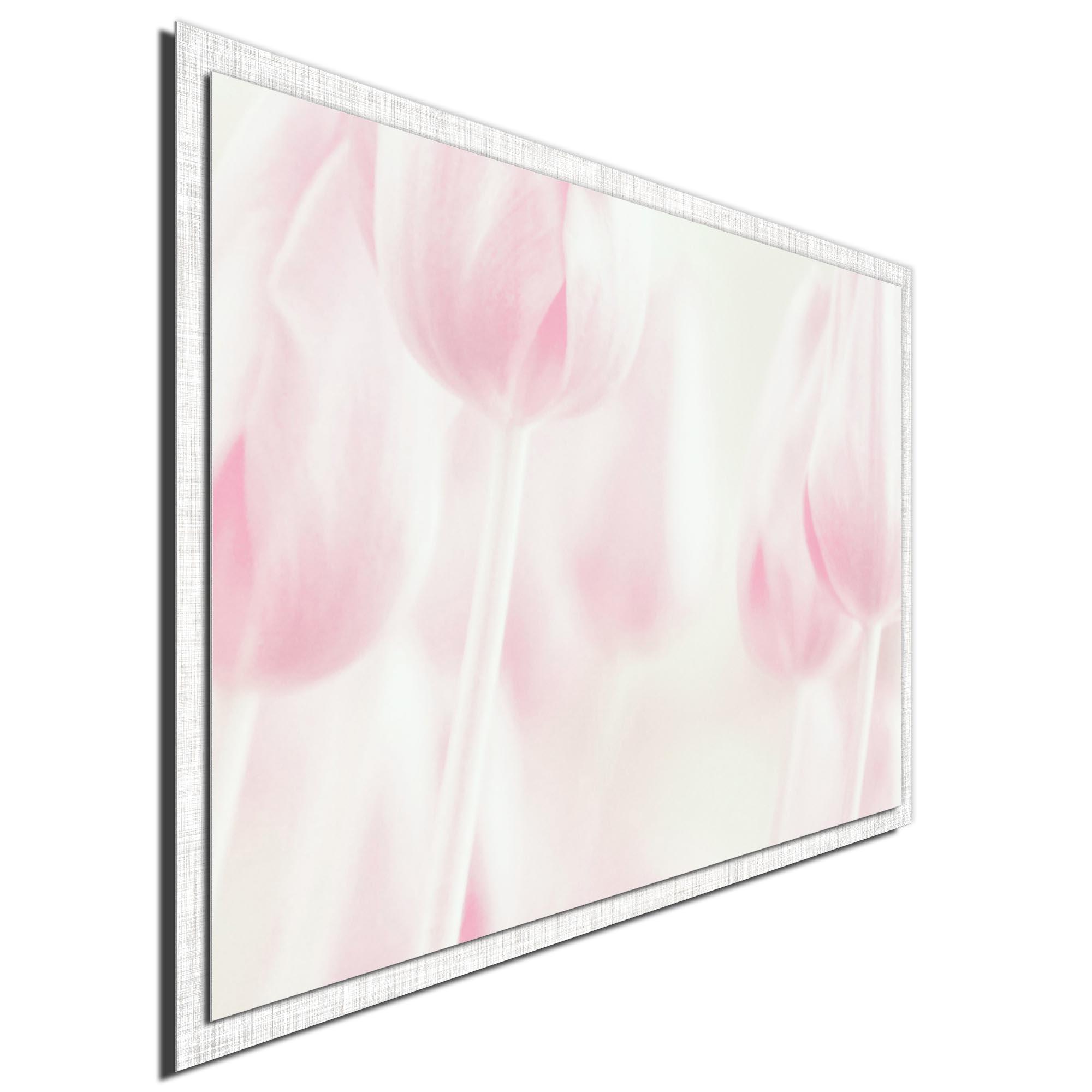Softness by Delphine Devos - Modern Farmhouse Floral on Metal - Image 2