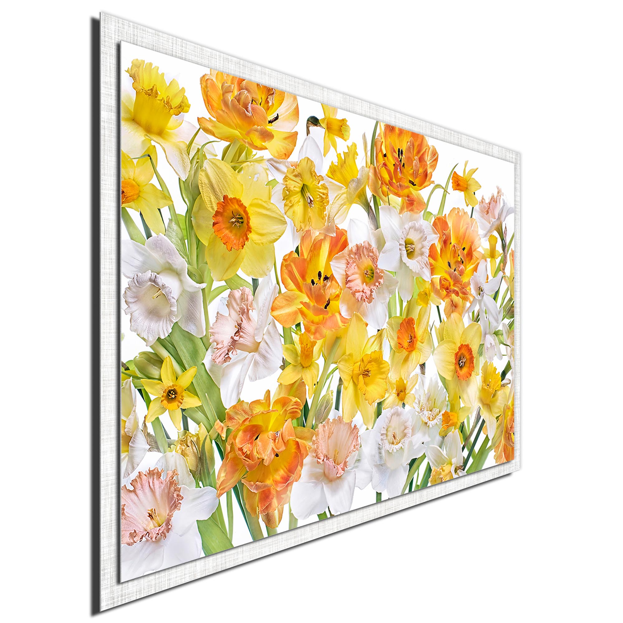 Spirited by Jacky Parker - Modern Farmhouse Floral on Metal - Image 2