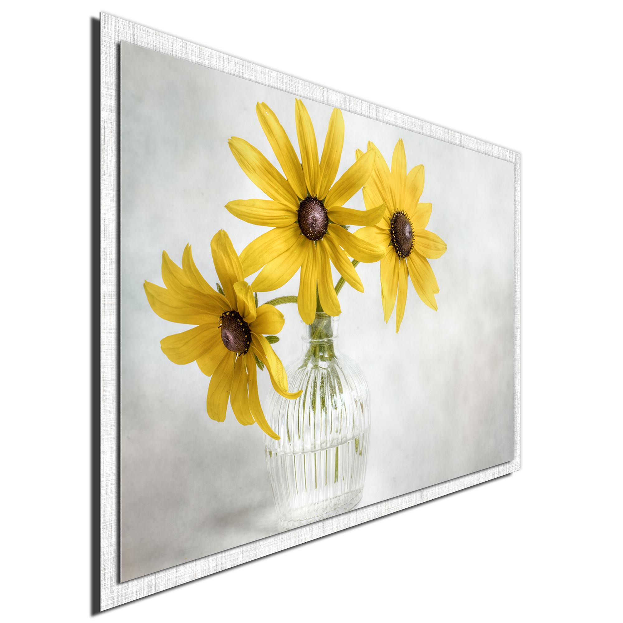 Rudbeckia by Mandy Disher - Modern Farmhouse Floral on Metal - Image 2