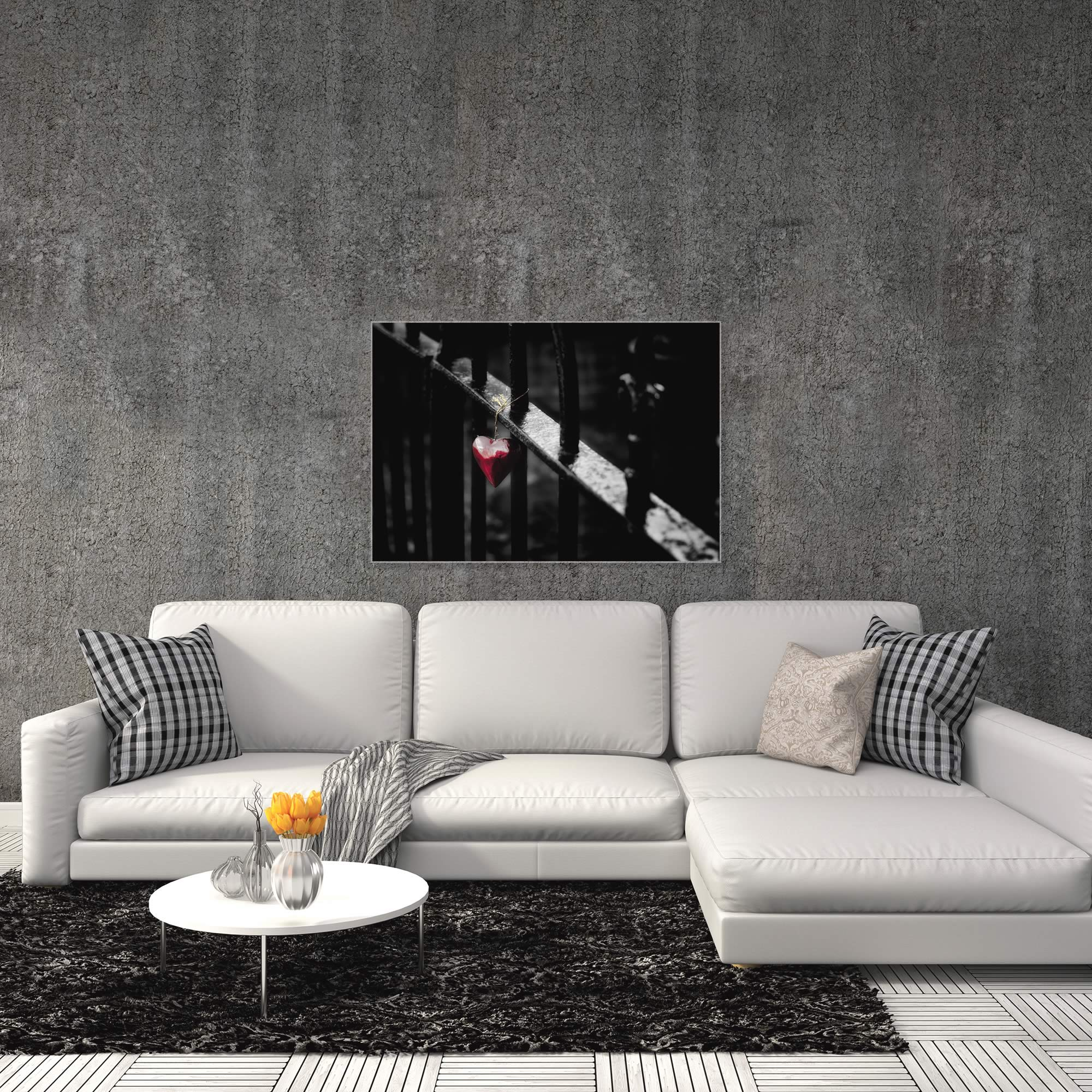 Lonely Heart by Richard Bland - Emotional Art on Metal or Acrylic - Alternate View 3