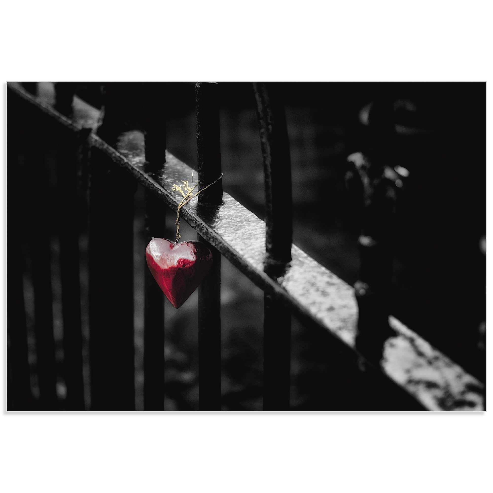 Lonely Heart by Richard Bland - Emotional Art on Metal or Acrylic - Alternate View 2