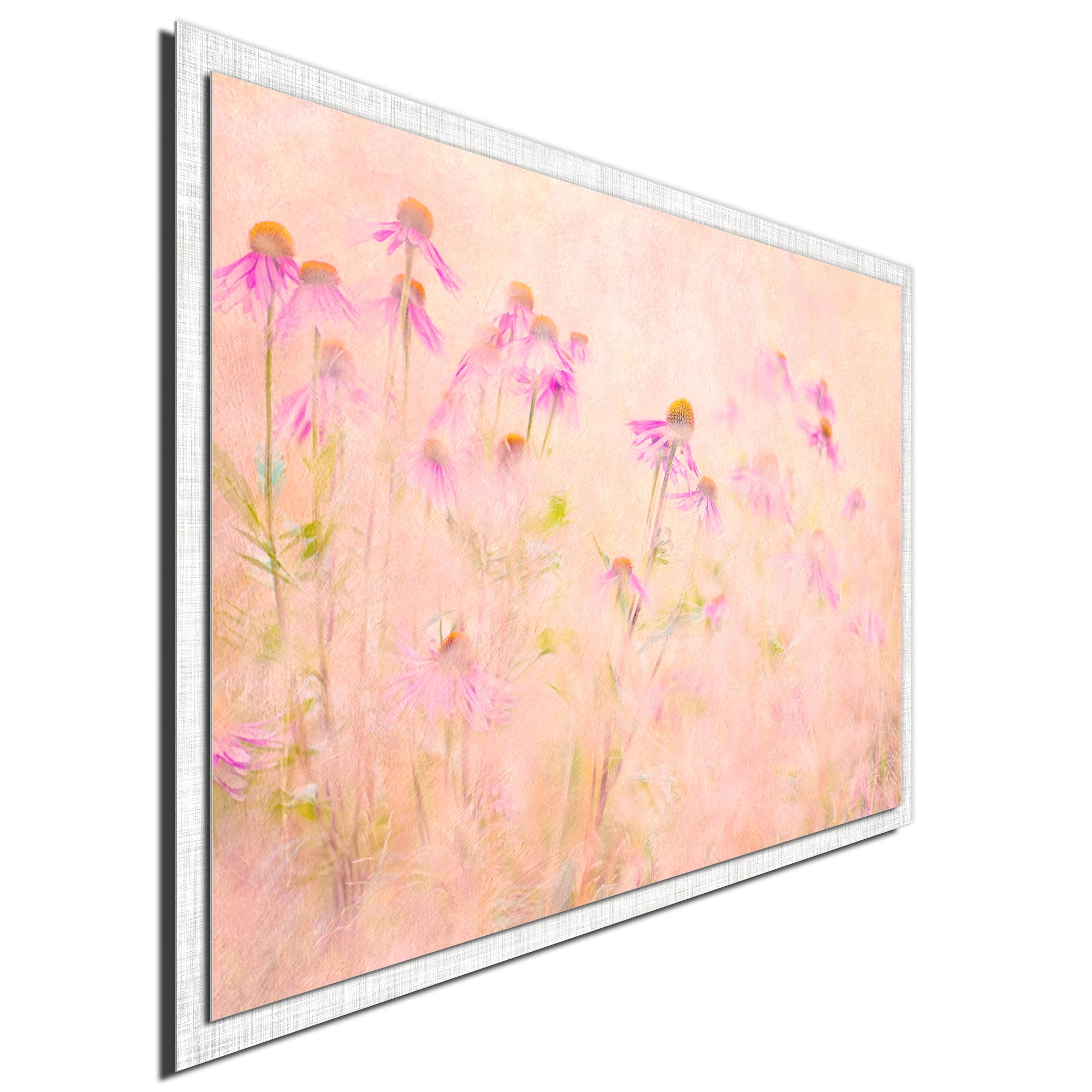 Summertime by Jacky Parker - Modern Farmhouse Floral on Metal - Image 2