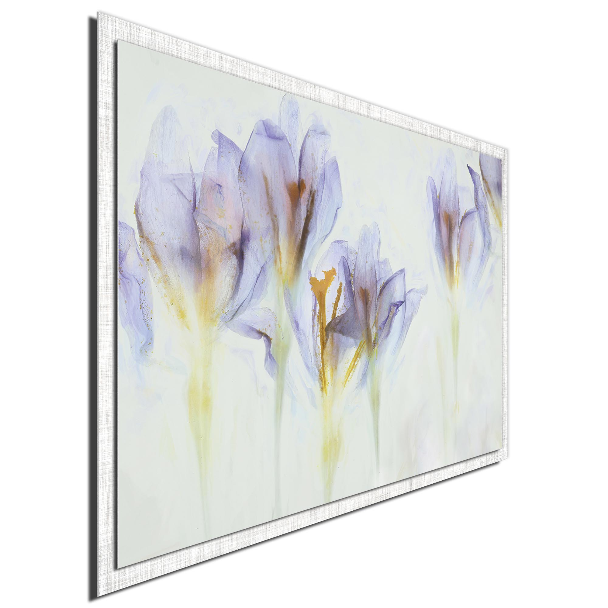 Spring by Nel Talen - Modern Farmhouse Floral on Metal - Image 2