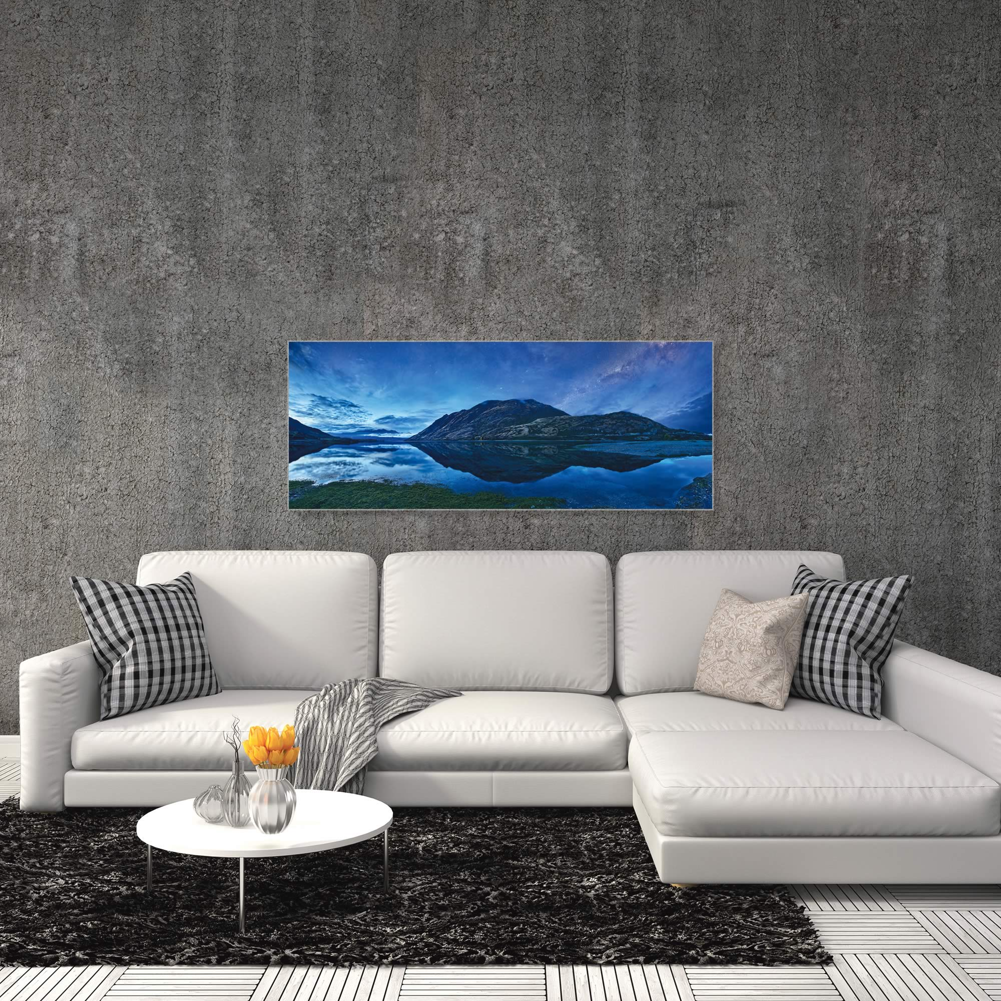 Lake Hawea by Yan Zhang - Landscape Art on Metal or Acrylic - Alternate View 3