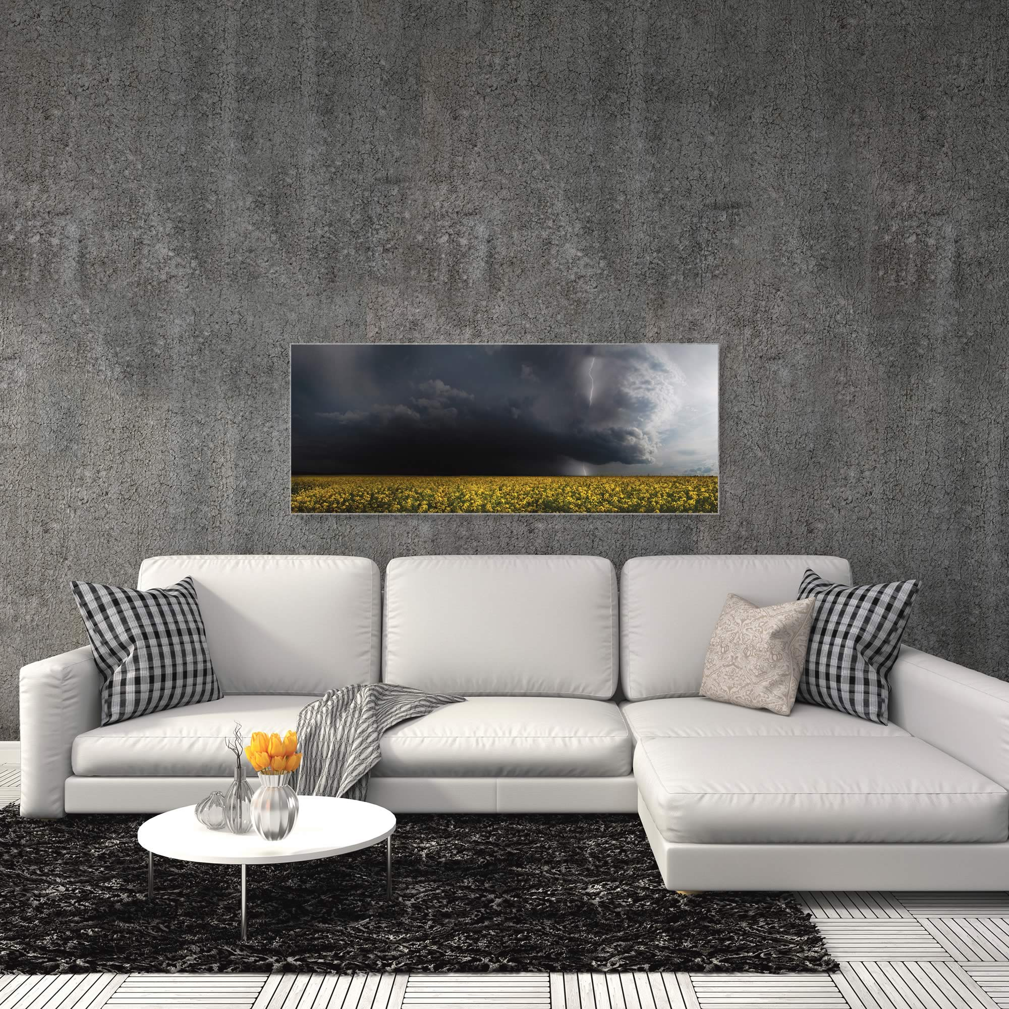 Storm Front by Franz Schumacher - Landscape Photography on Metal or Acrylic - Alternate View 3