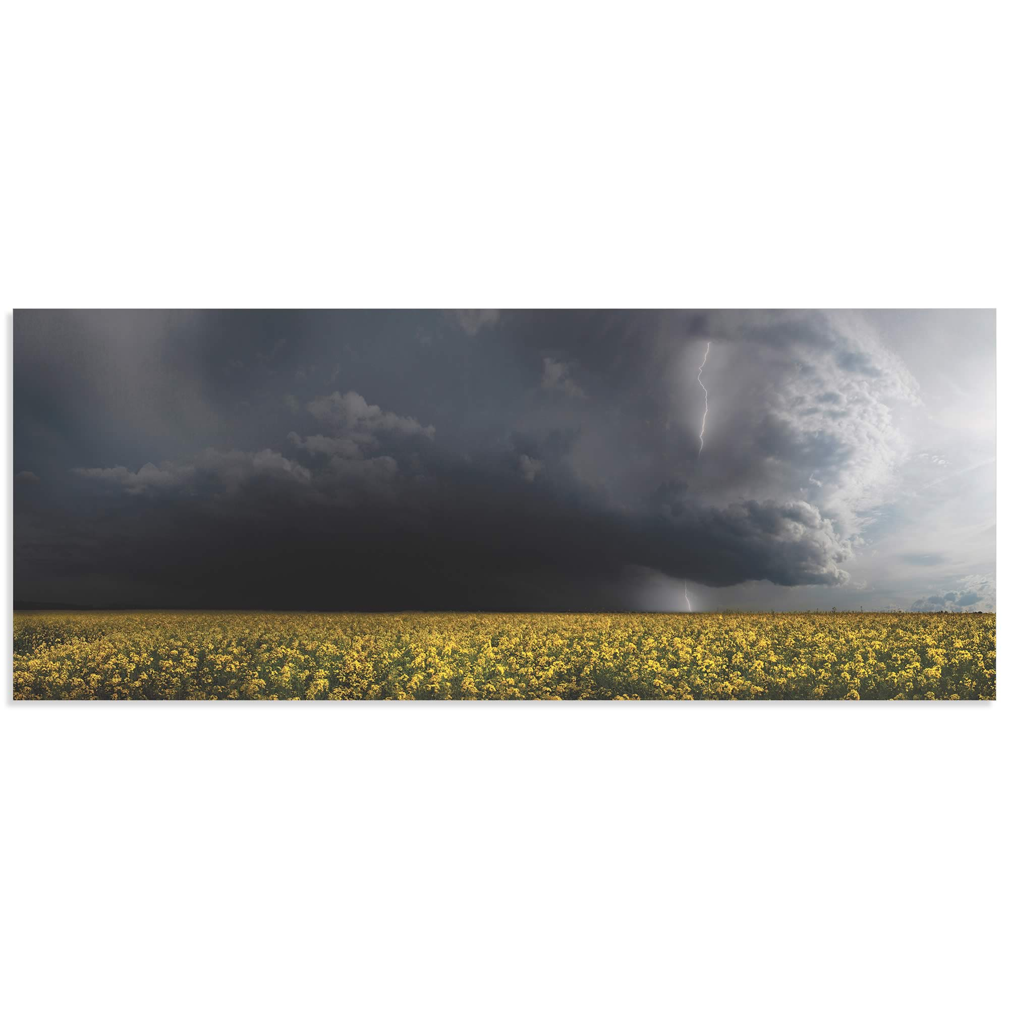 Storm Front by Franz Schumacher - Landscape Photography on Metal or Acrylic