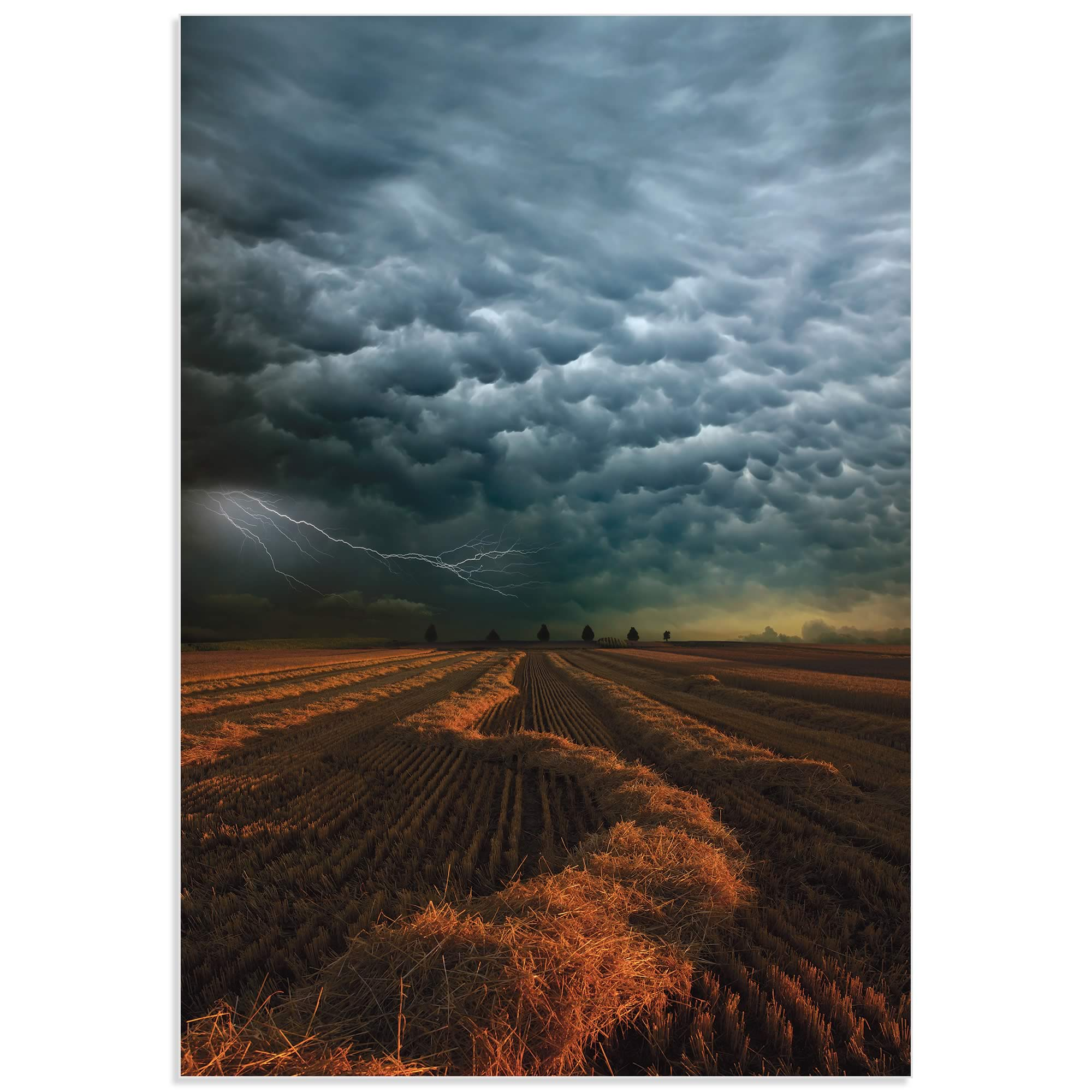 Mammatus Clouds by Franz Schumacher - Storm Pictures on Metal or Acrylic - Alternate View 2
