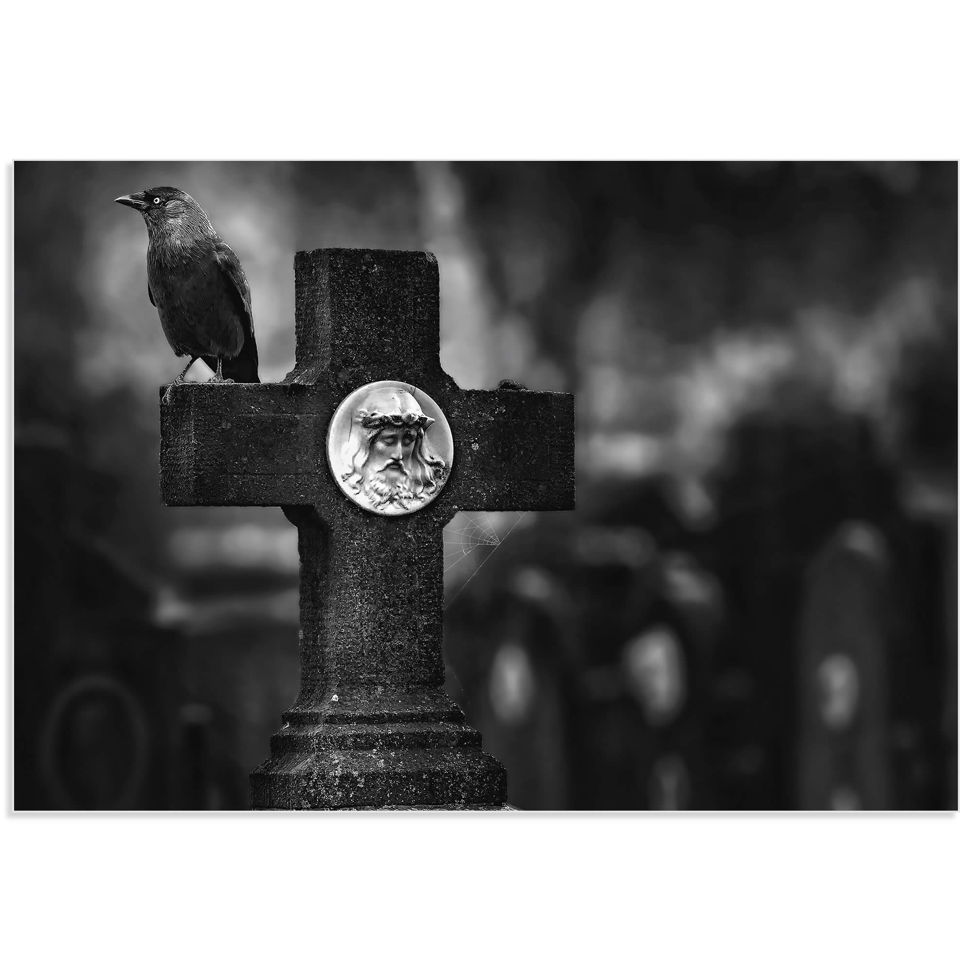 Another Year Has Gone by Piet Flour - Cemetery Art on Metal or Acrylic - Alternate View 2