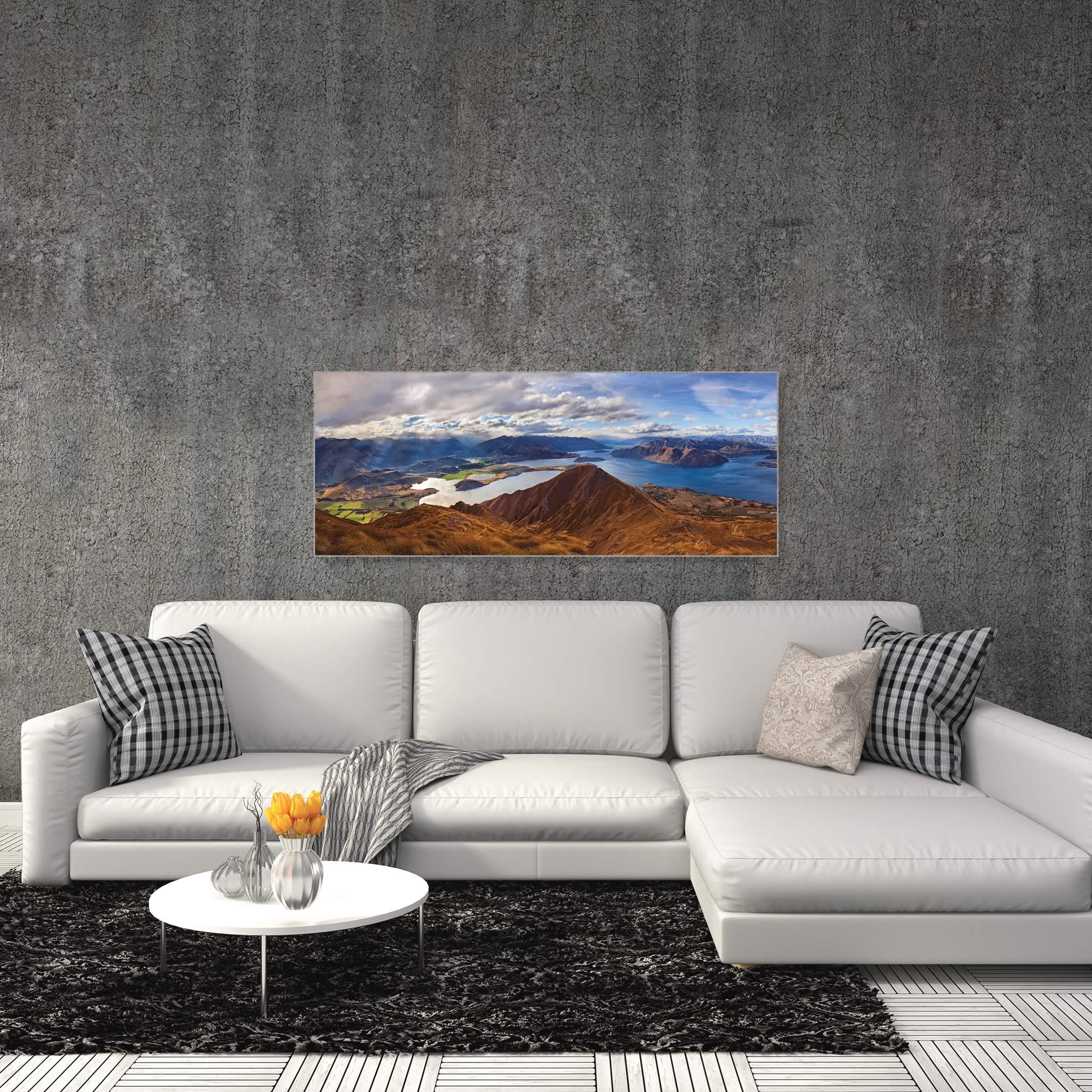 Roys Peak by Yan Zhang - Landscape Art on Metal or Acrylic - Alternate View 3
