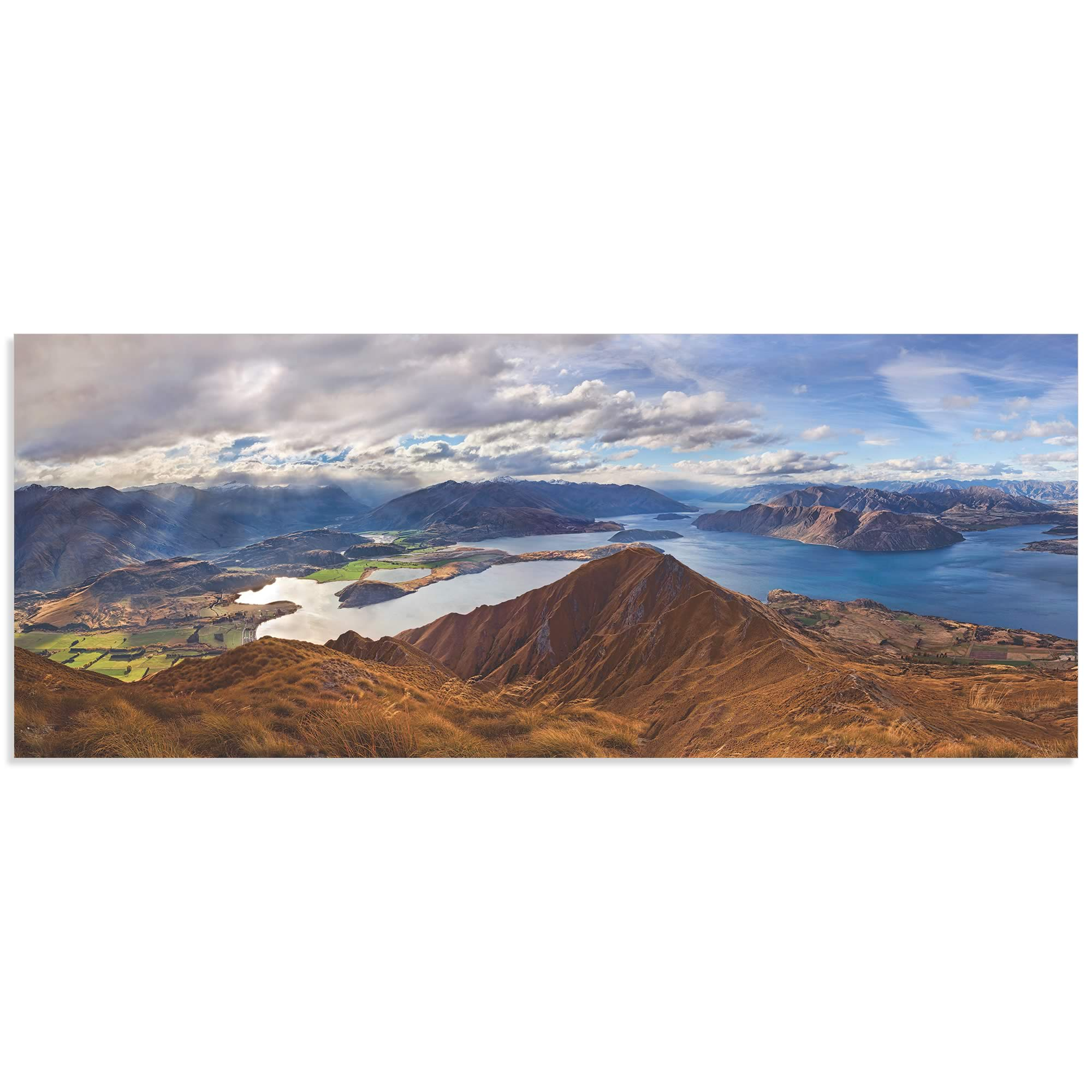 Roys Peak by Yan Zhang - Landscape Art on Metal or Acrylic