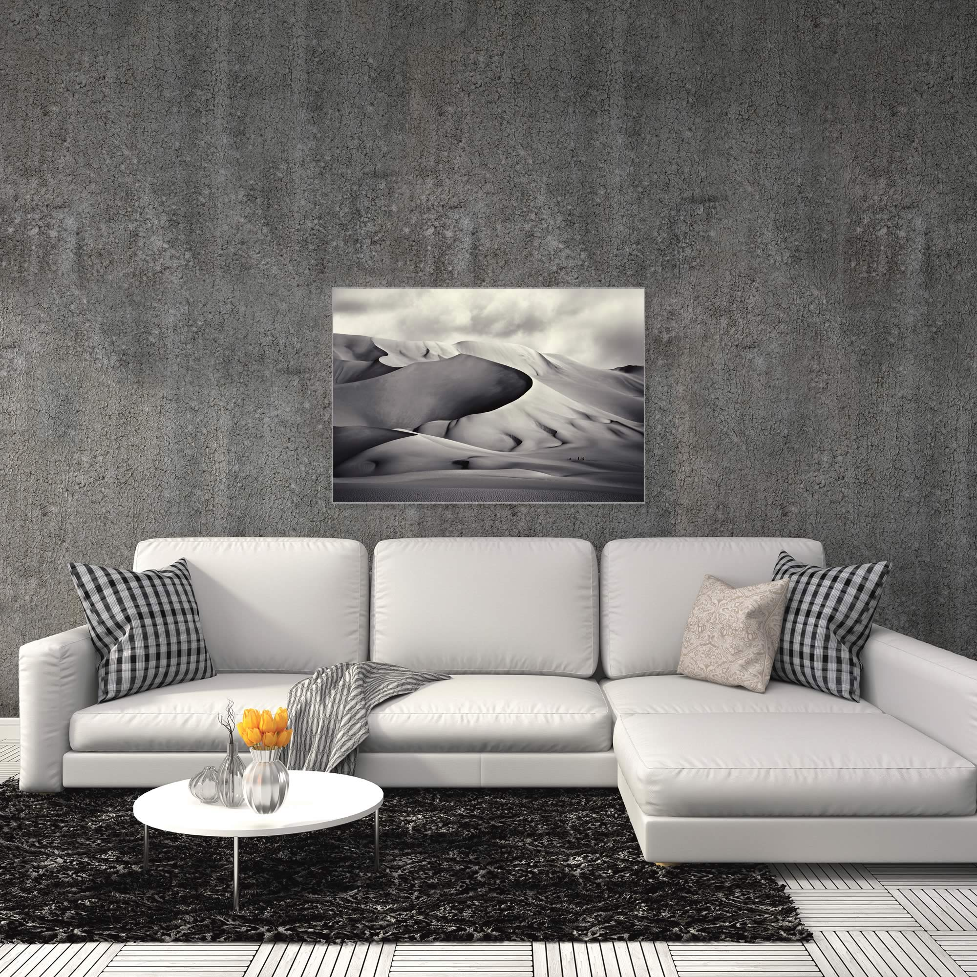 Desert Dunes by Manuel Vilches - Minimalist Photography on Metal or Acrylic - Alternate View 3