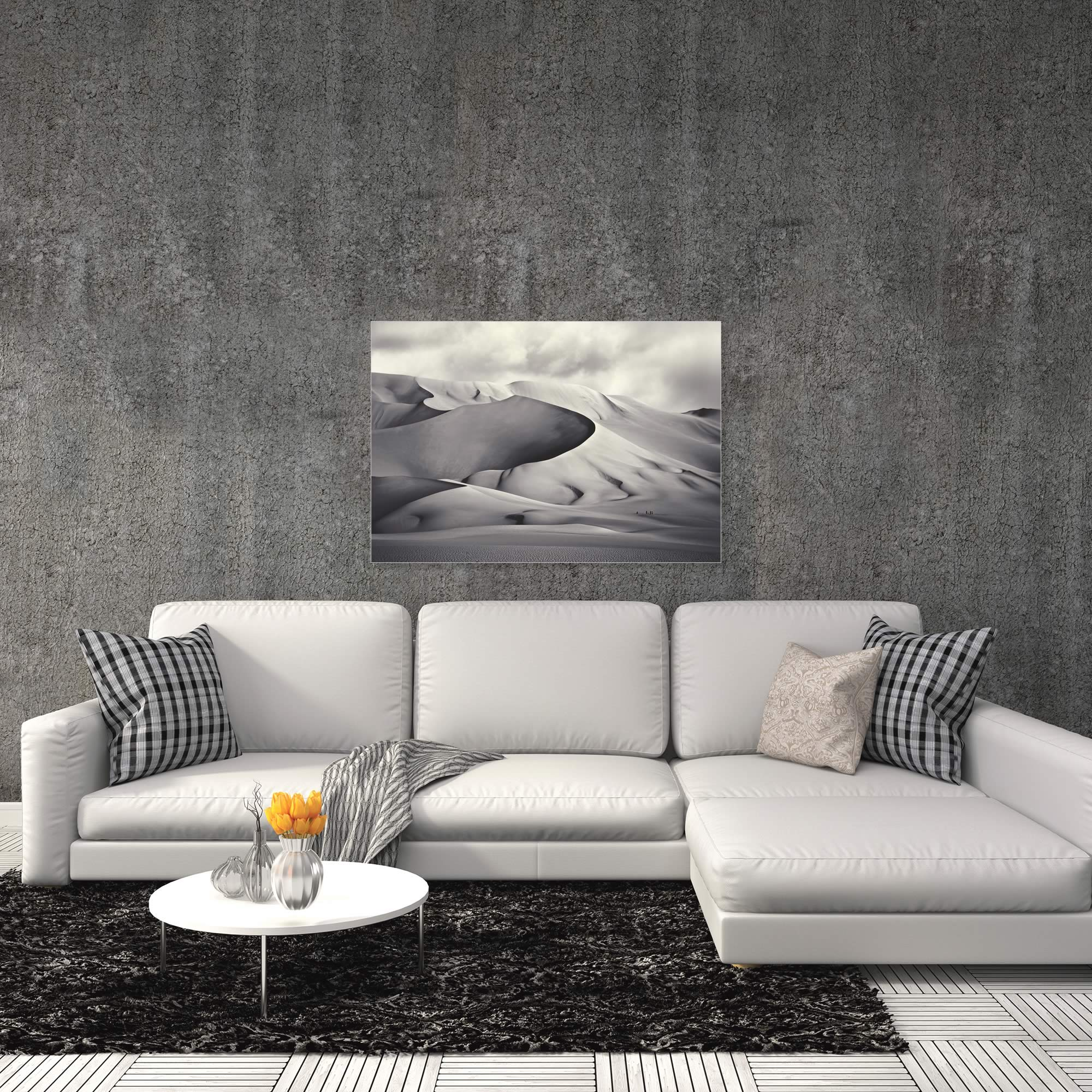 Desert Dunes by Manuel Vilches - Minimalist Photography on Metal or Acrylic - Alternate View 1