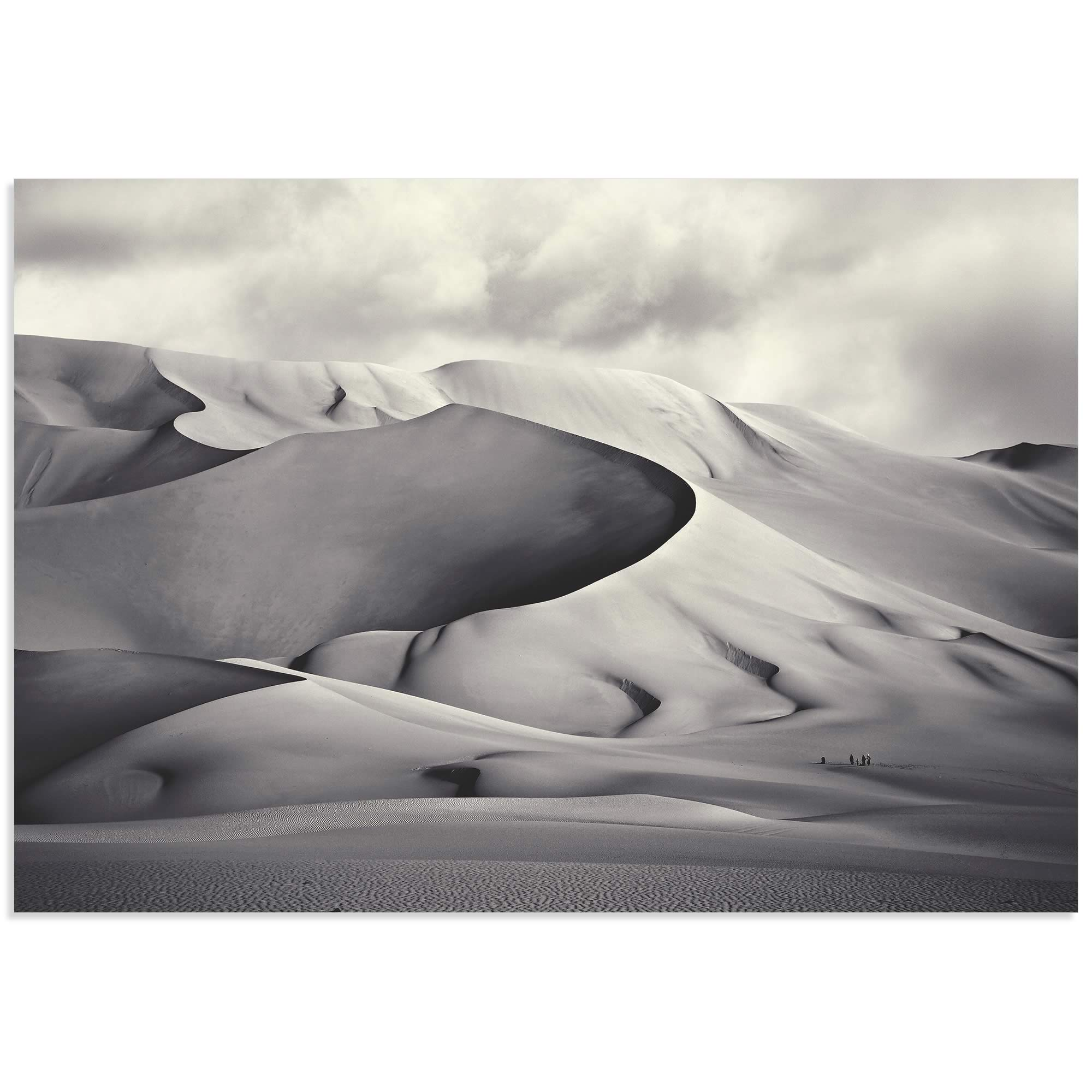 Desert Dunes by Manuel Vilches - Minimalist Photography on Metal or Acrylic