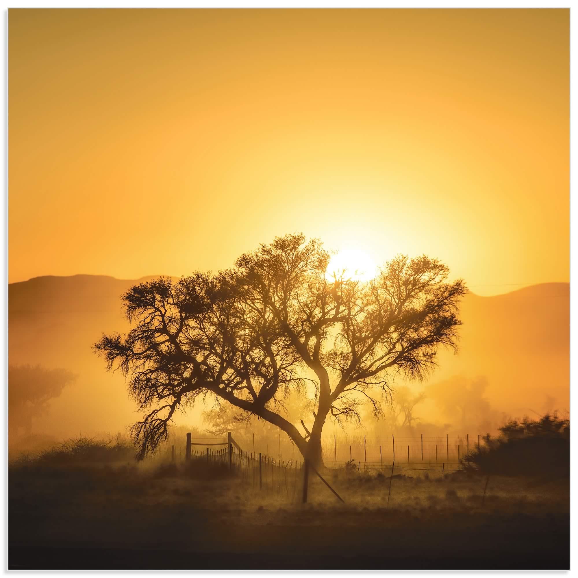Golden Sunrise by Piet Flour - Landscape Photography on Metal or Acrylic - Alternate View 2