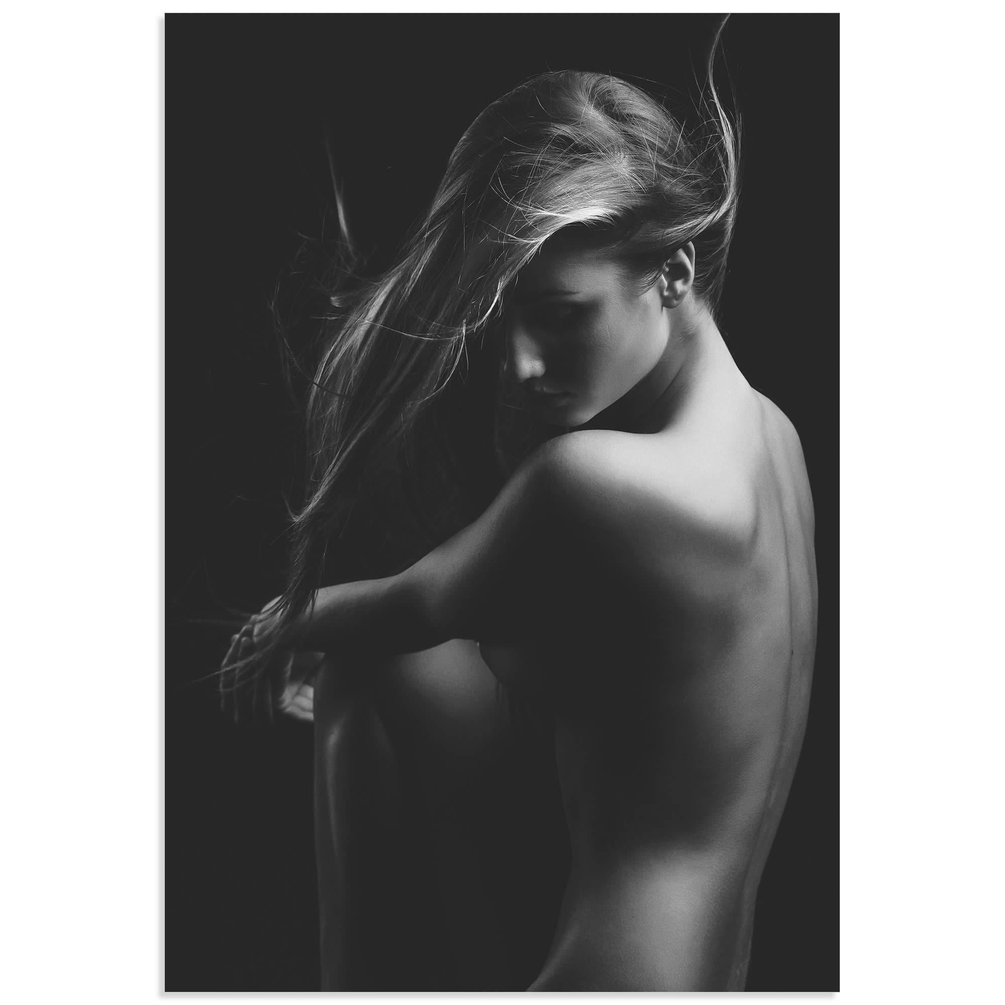 Sensual Beauty by Martin Krystynek - Model Photography on Metal or Acrylic