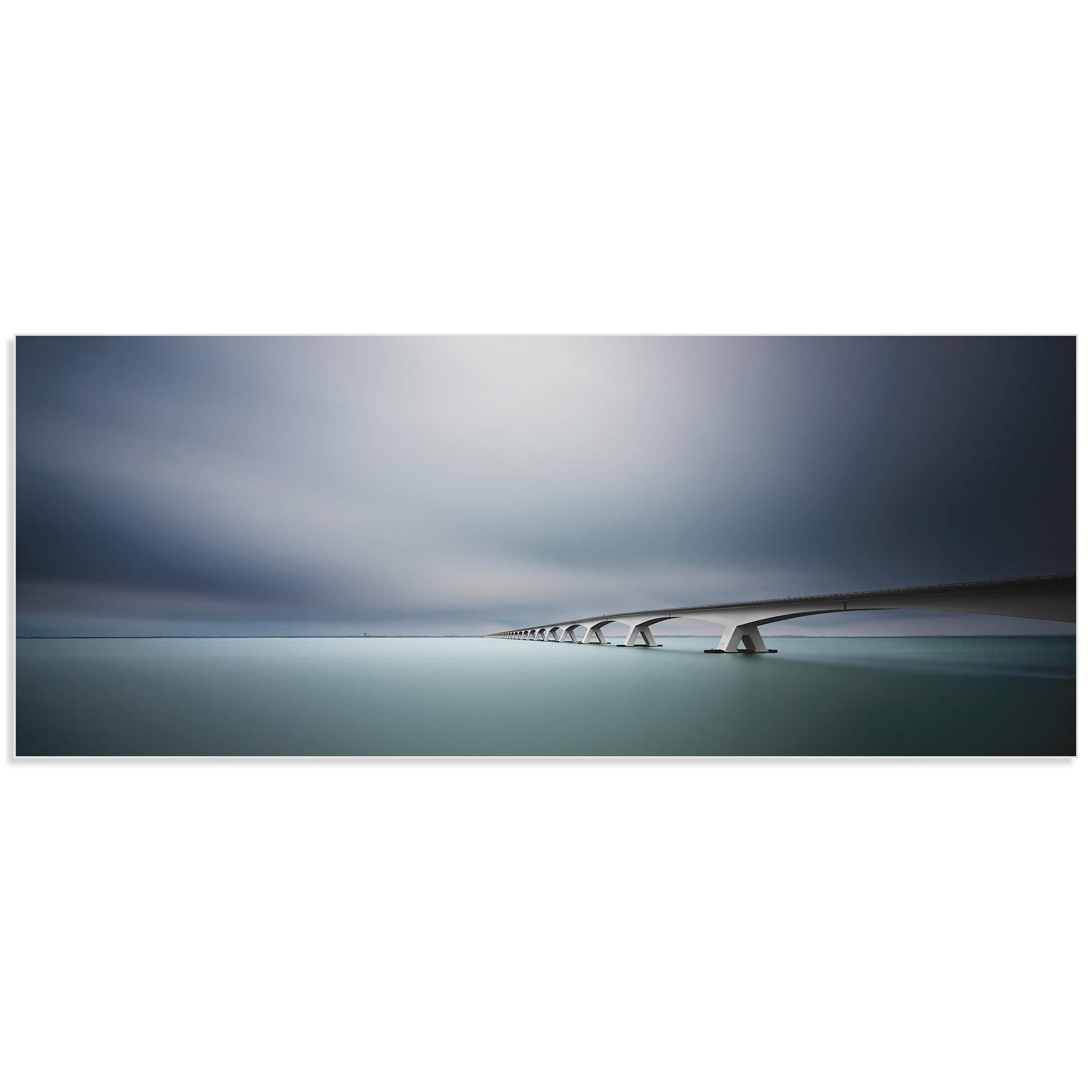 The Infinite Bridge by Arthur van Orden - Bridge Art on Metal or Acrylic - Alternate View 2