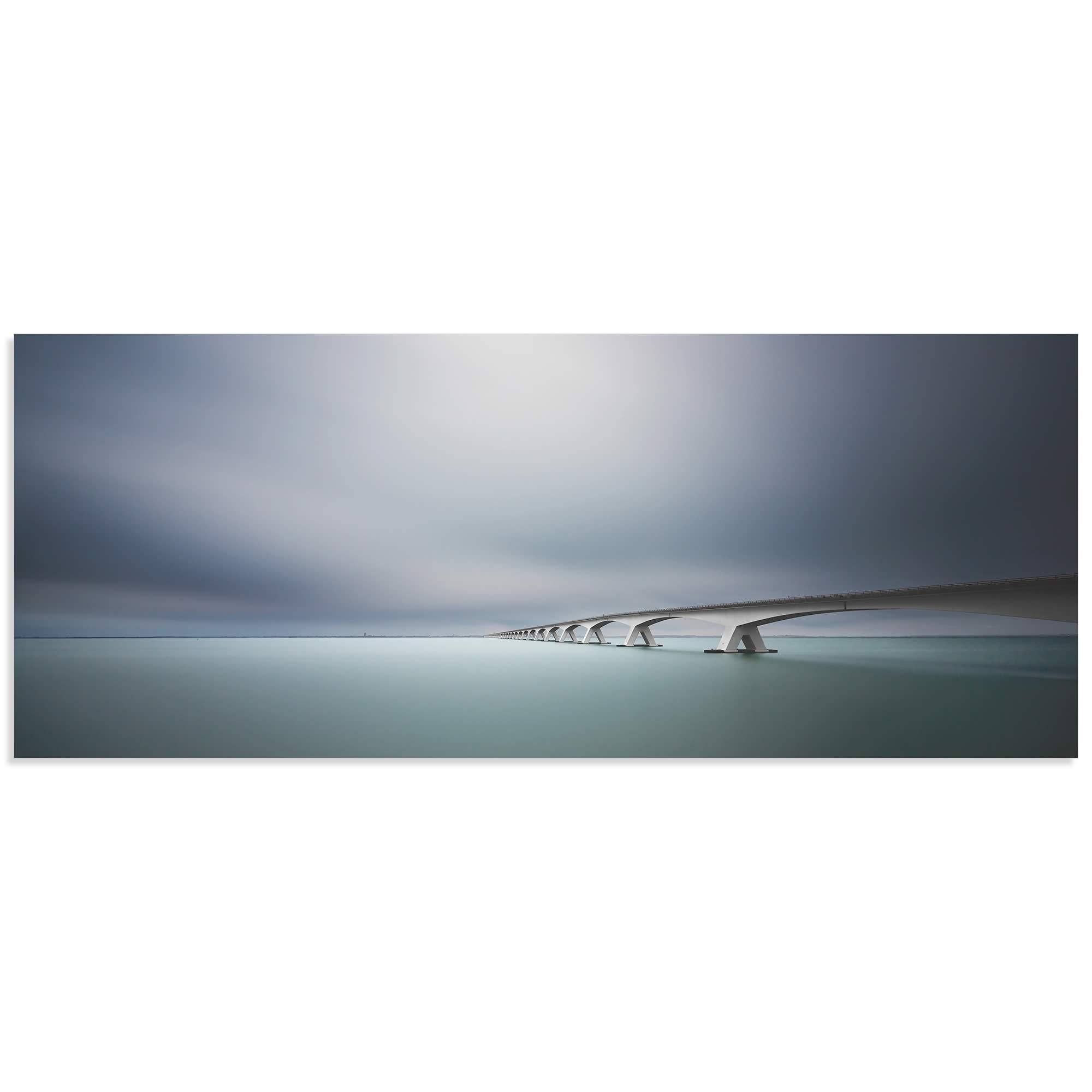 The Infinite Bridge by Arthur van Orden - Bridge Art on Metal or Acrylic