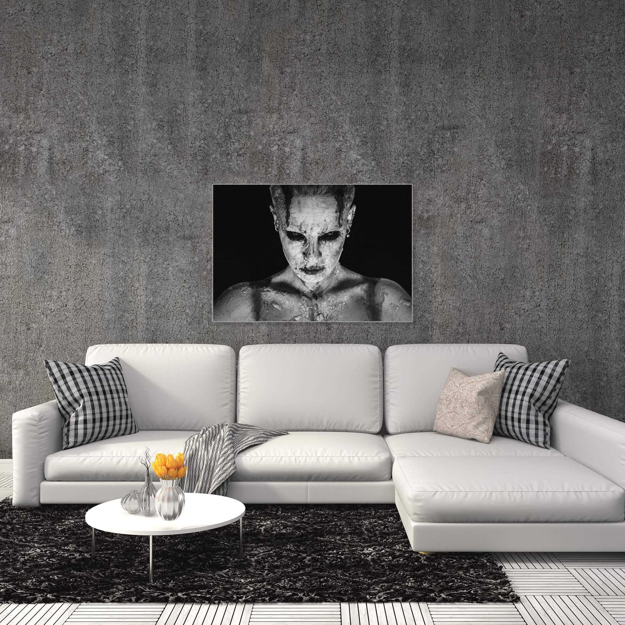 I Am Your Queen by Marco De Waal - Gothic Art on Metal or Acrylic - Alternate View 3