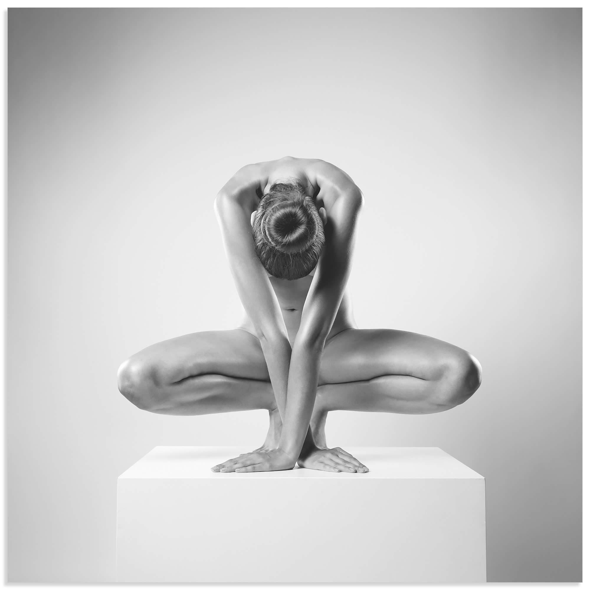 Cross by Arkadiusz Branicki - Human Form Photography on Metal or Acrylic