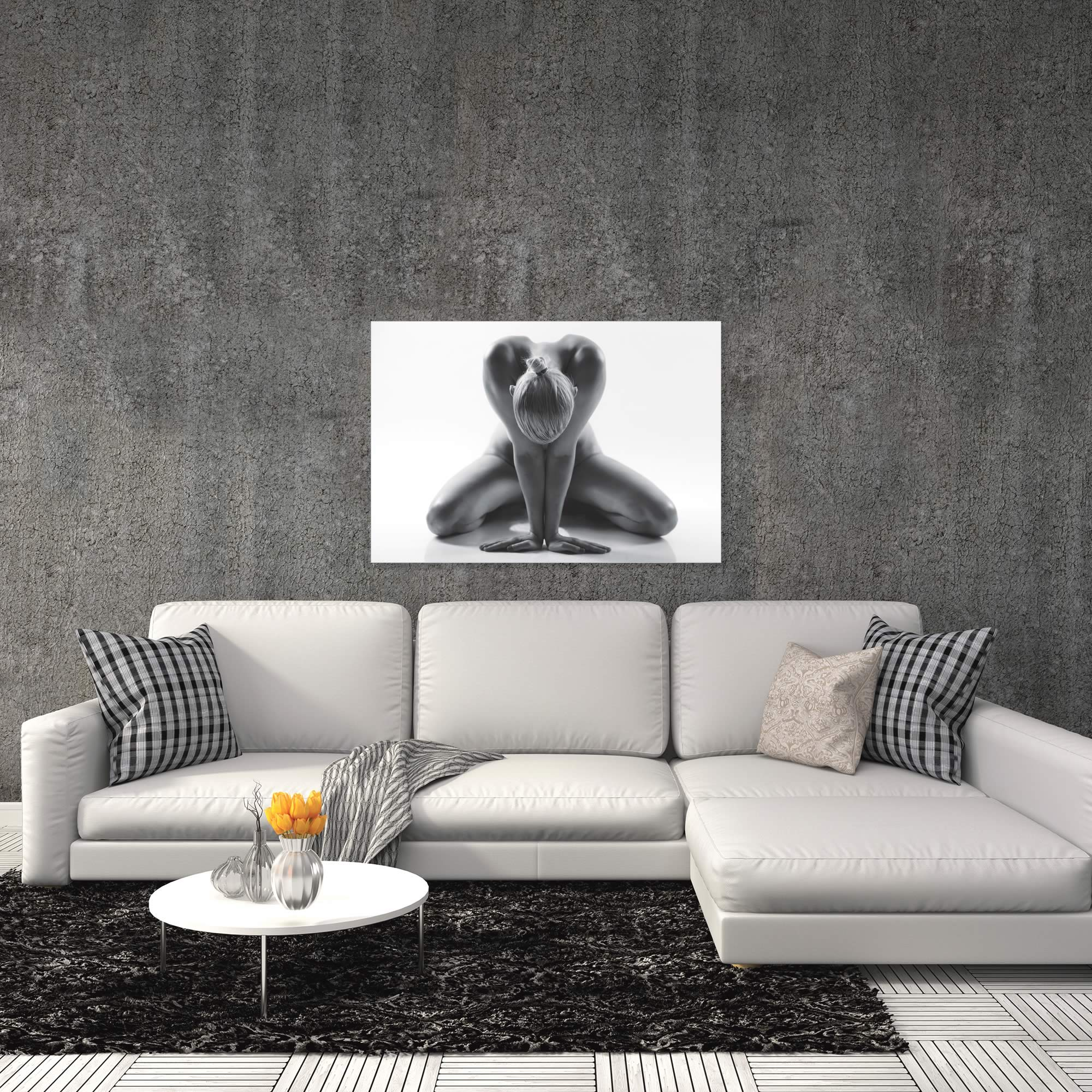 Yoga by Jan Lykke - Human Form Photography on Metal or Acrylic - Alternate View 1
