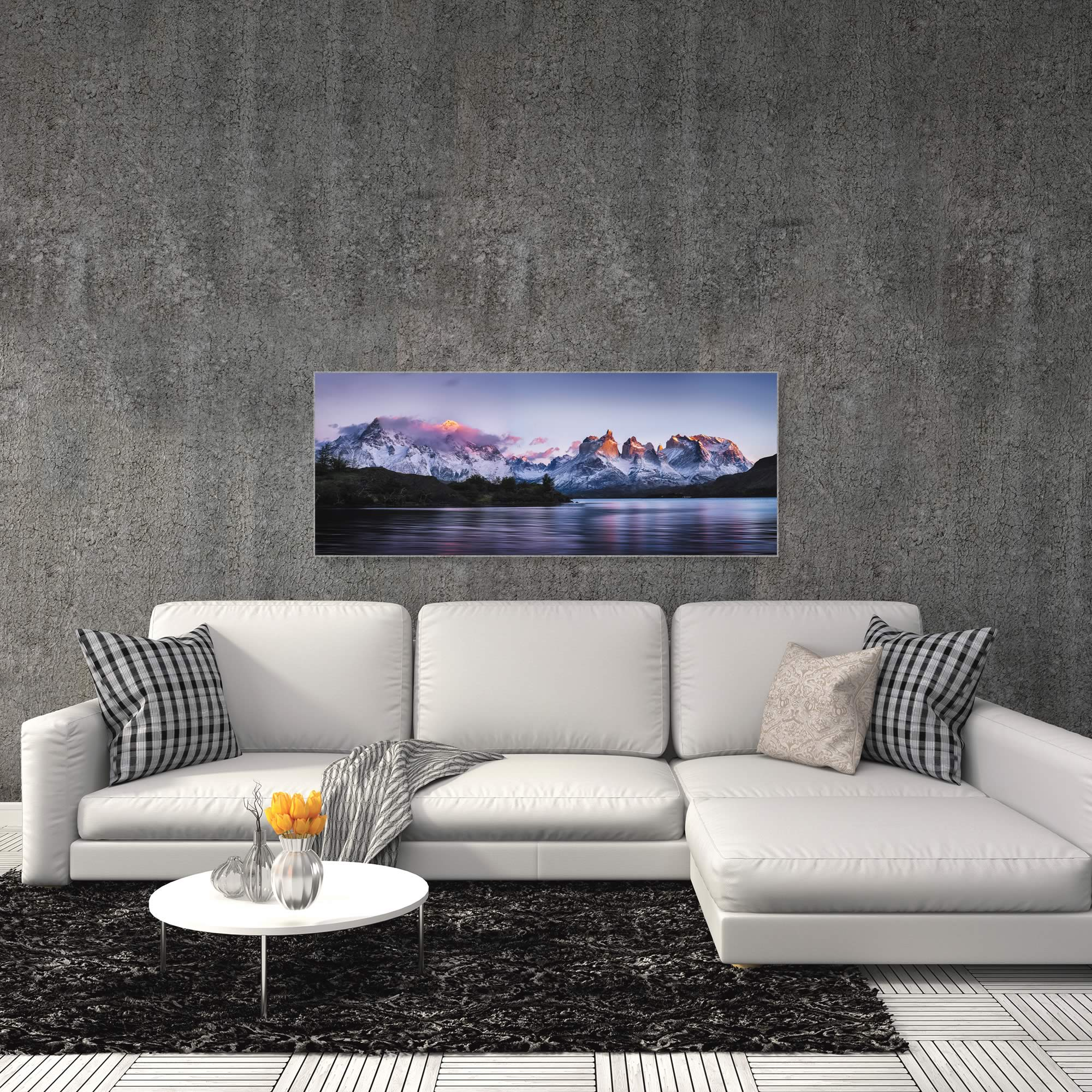 Torres del Paine by Ignacio Palacios - Landscape Art on Metal or Acrylic - Alternate View 3