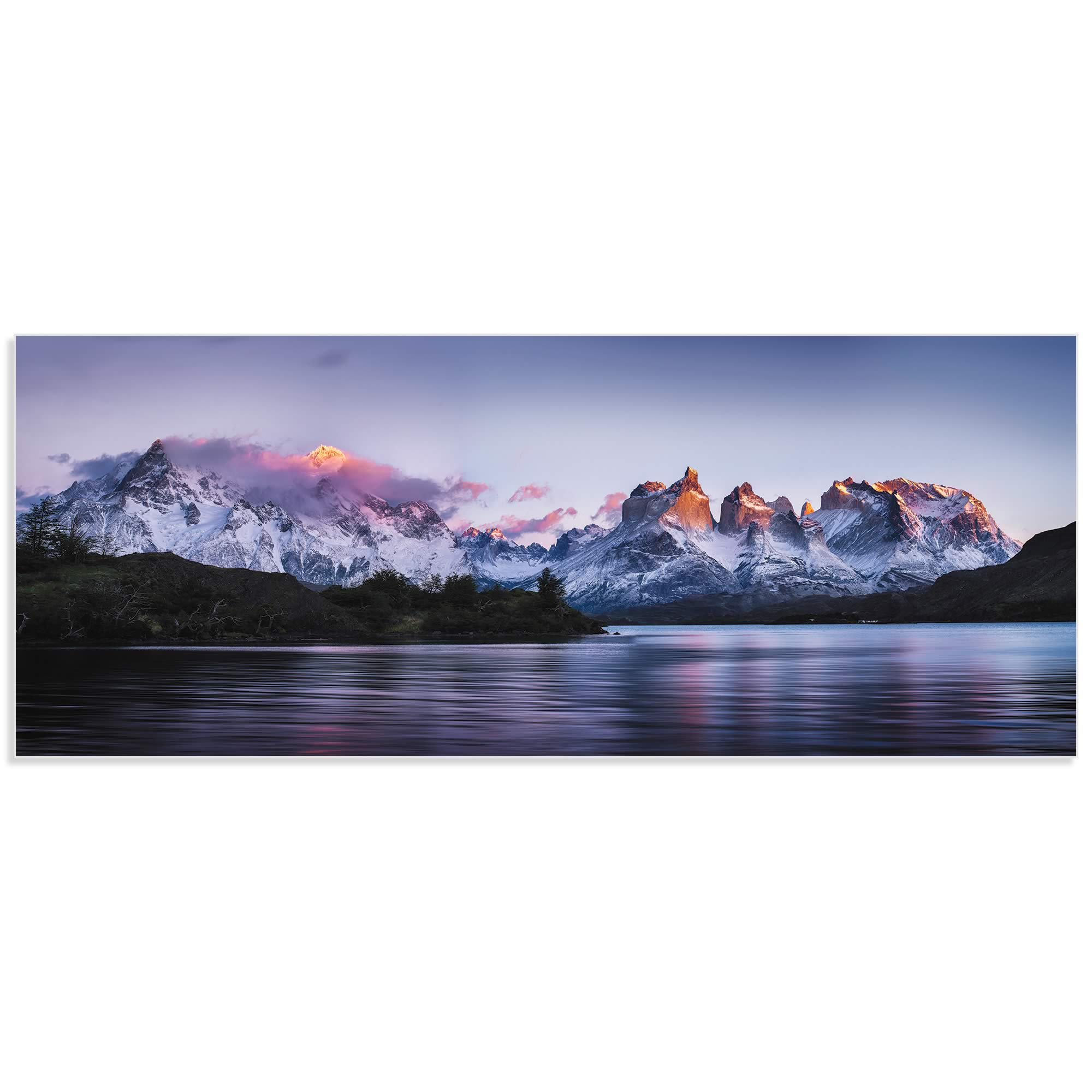 Torres del Paine by Ignacio Palacios - Landscape Art on Metal or Acrylic - Alternate View 2