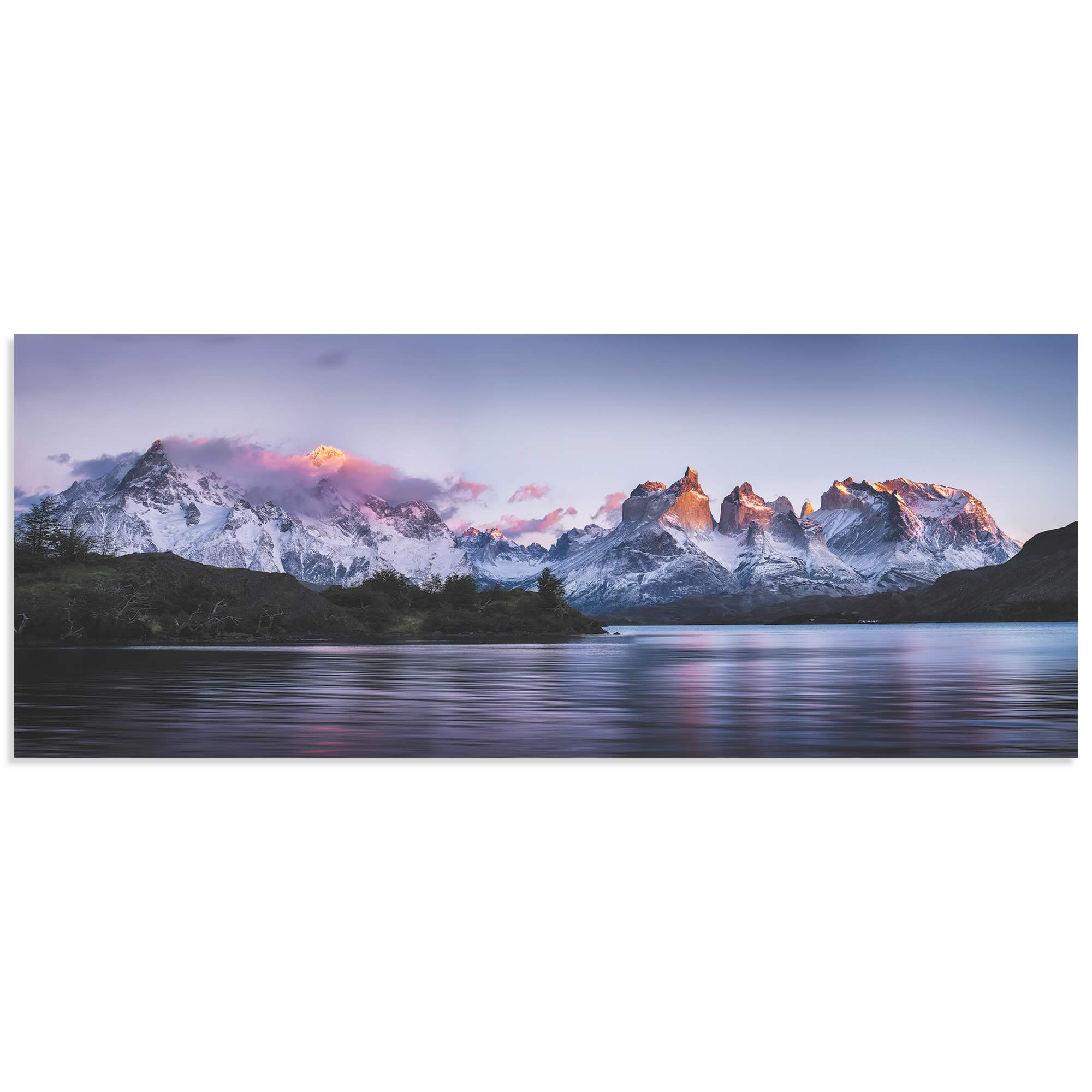 Torres del Paine by Ignacio Palacios - Landscape Art on Metal or Acrylic