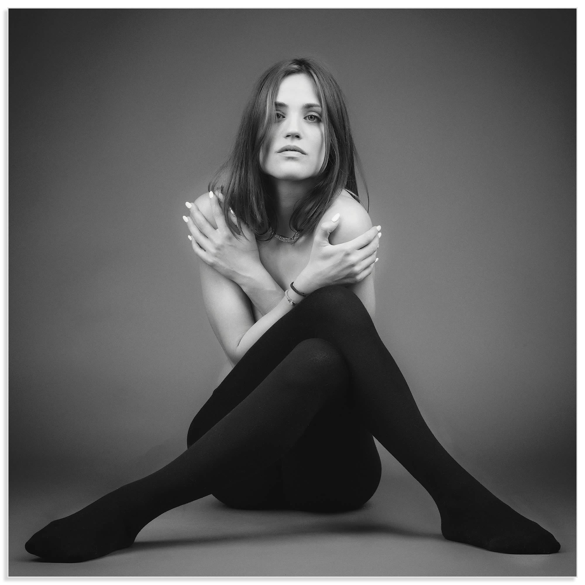 Stockings by Ilias Agiostratitis - Model Photography on Metal or Acrylic - Alternate View 2