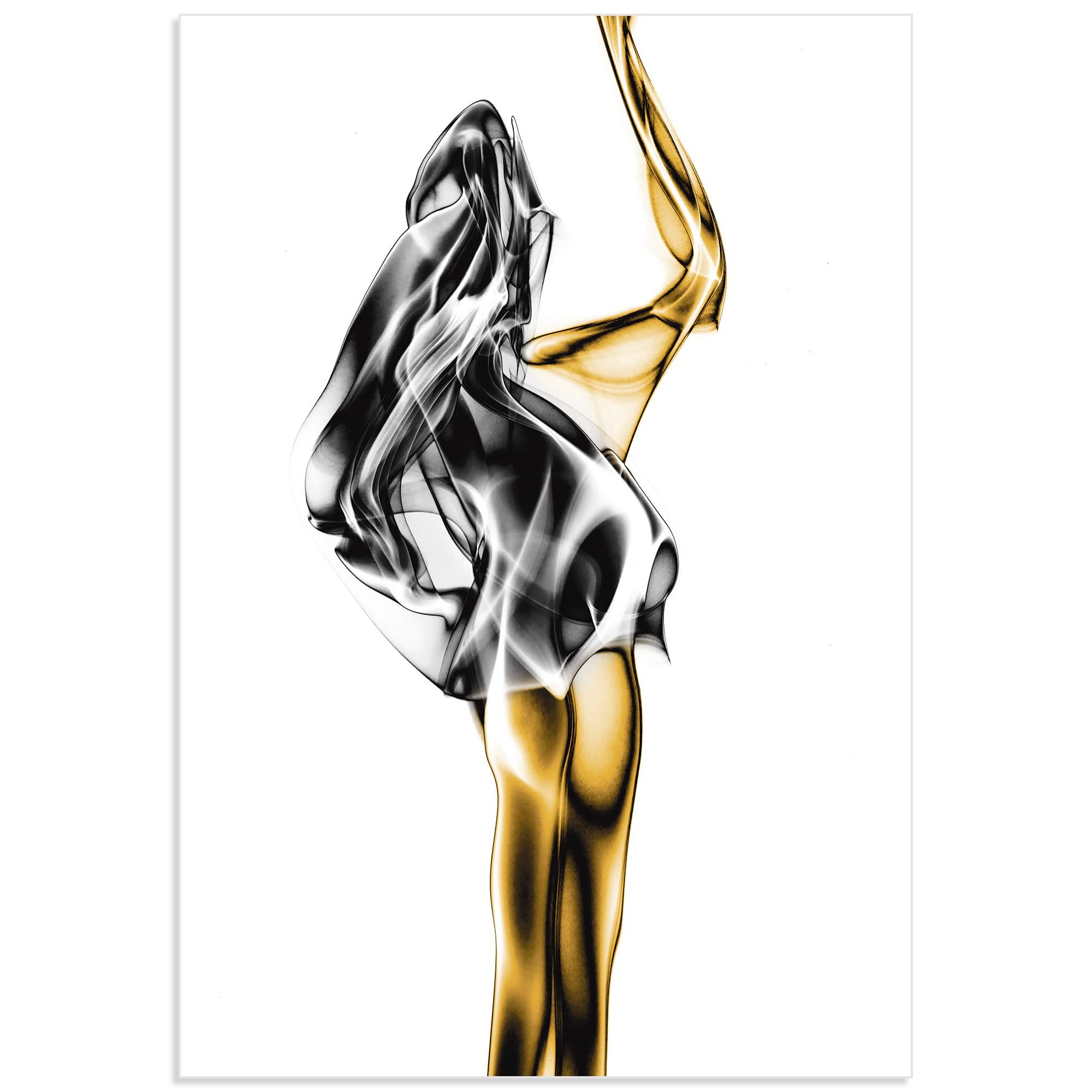Naked Abstract by Roberto Marini - Figurative Art on Metal or Acrylic - Alternate View 2